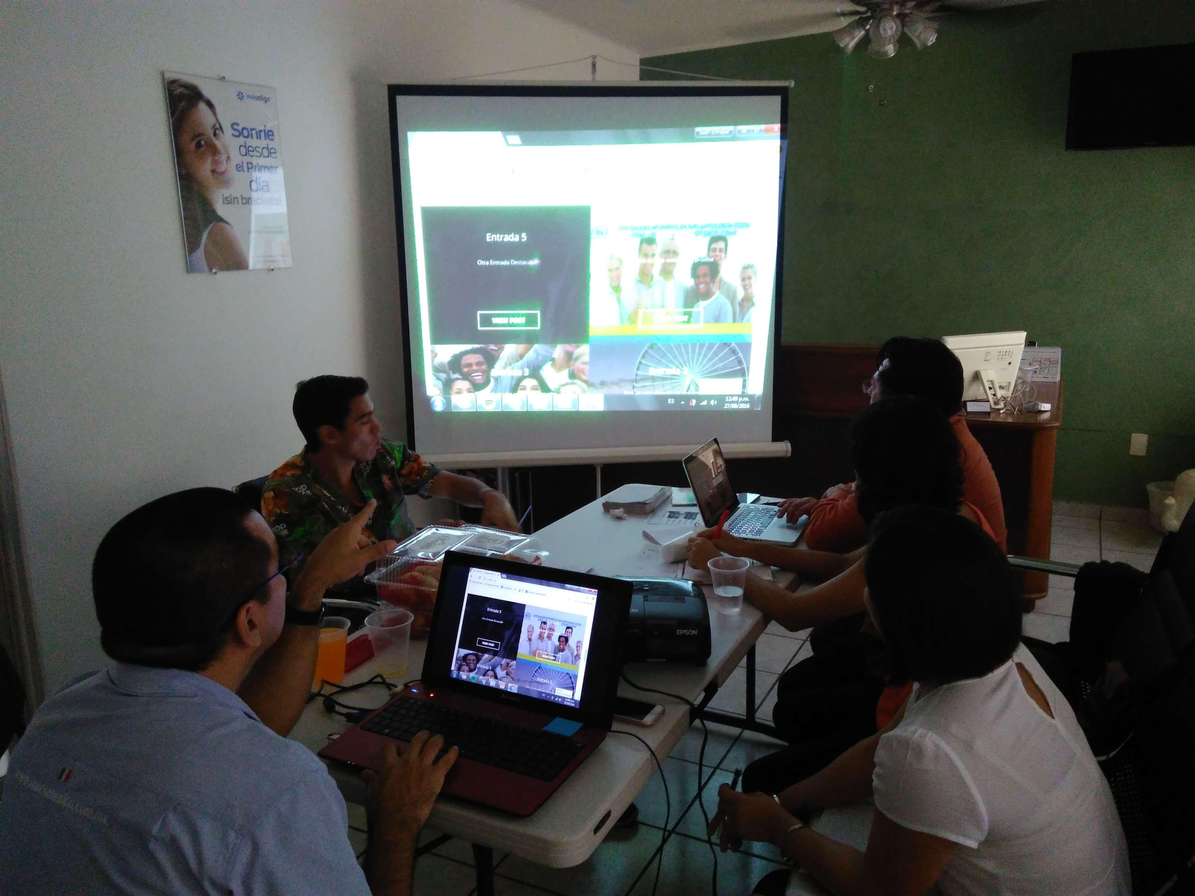curso página web y redes sociales