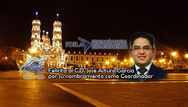 Felicidades Dr. José Arturo Garcia Colin