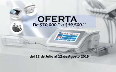Oferta, motor para implantes dentales.